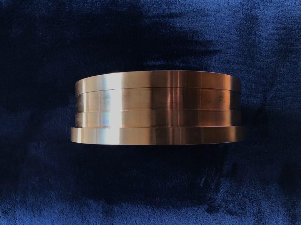 NC旋盤 リン青銅 φ250×80L 20mmキー / 東京都多摩西部